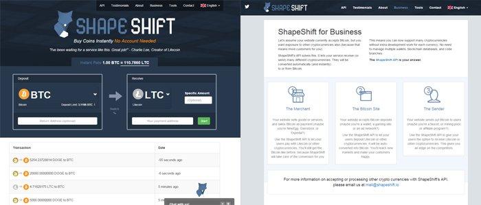 ShapeShift Screenshot
