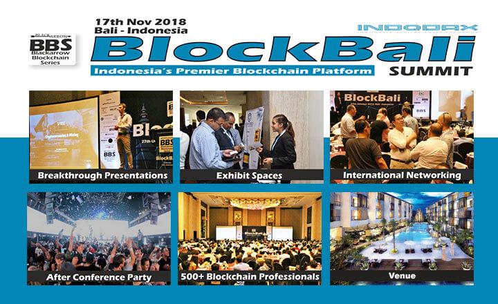 Indonesia to Host BlockBali Summit on November 17, 2018