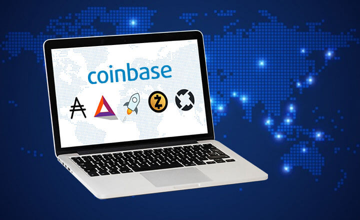 Coinbase to Trade ADA, BAT, XLM, ZEC, and ZRX?
