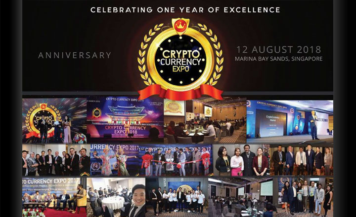 Crypto Currency Expo Marks 1st Year Anniversary