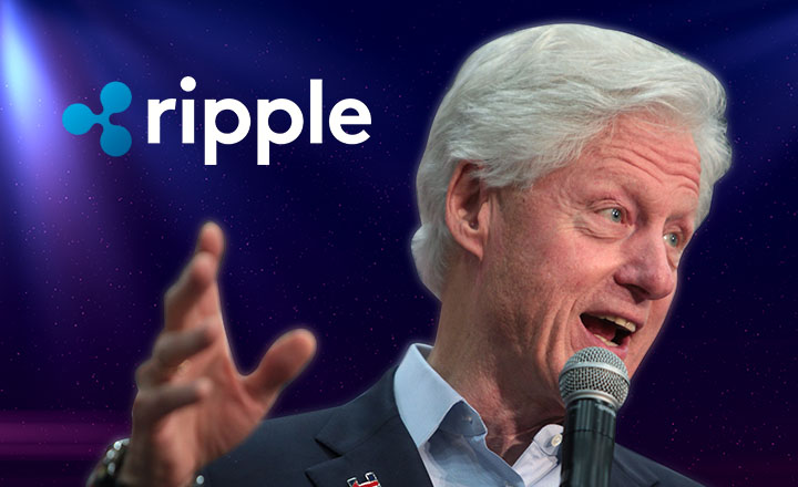 Former US Pres. Bill Clinton Headlines Ripple-Hosted Conference