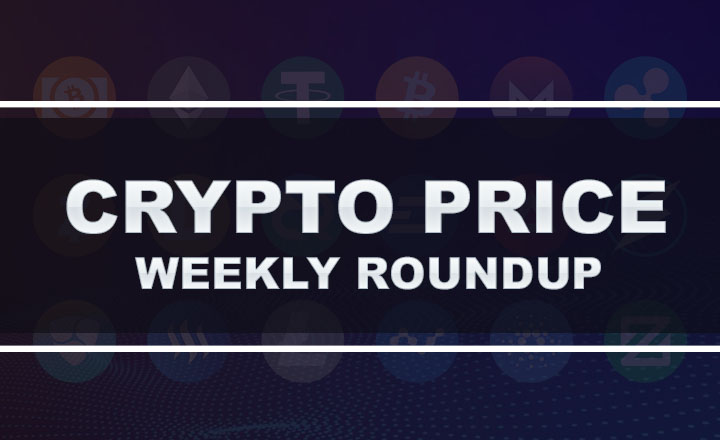 Crypto Exchange August WK4 2018