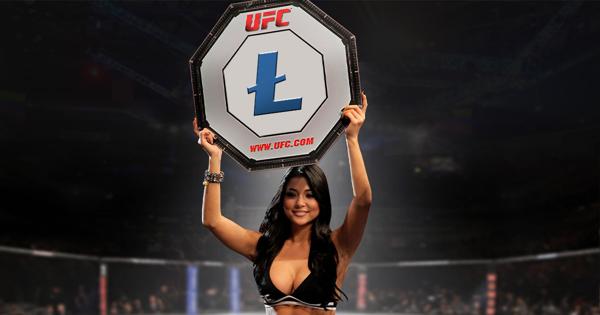 Litecoin (LTC) Knocks out Competitors to Become First Crypto Partner of UFC