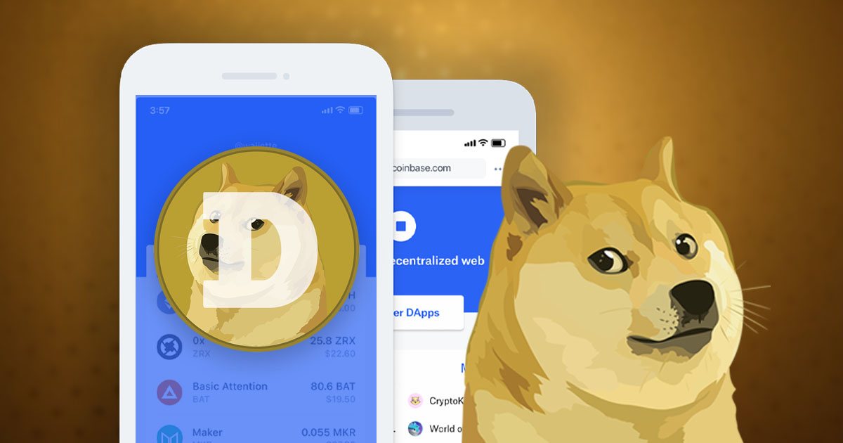 Coinbase Wallet Now Supports Dogecoin (DOGE)