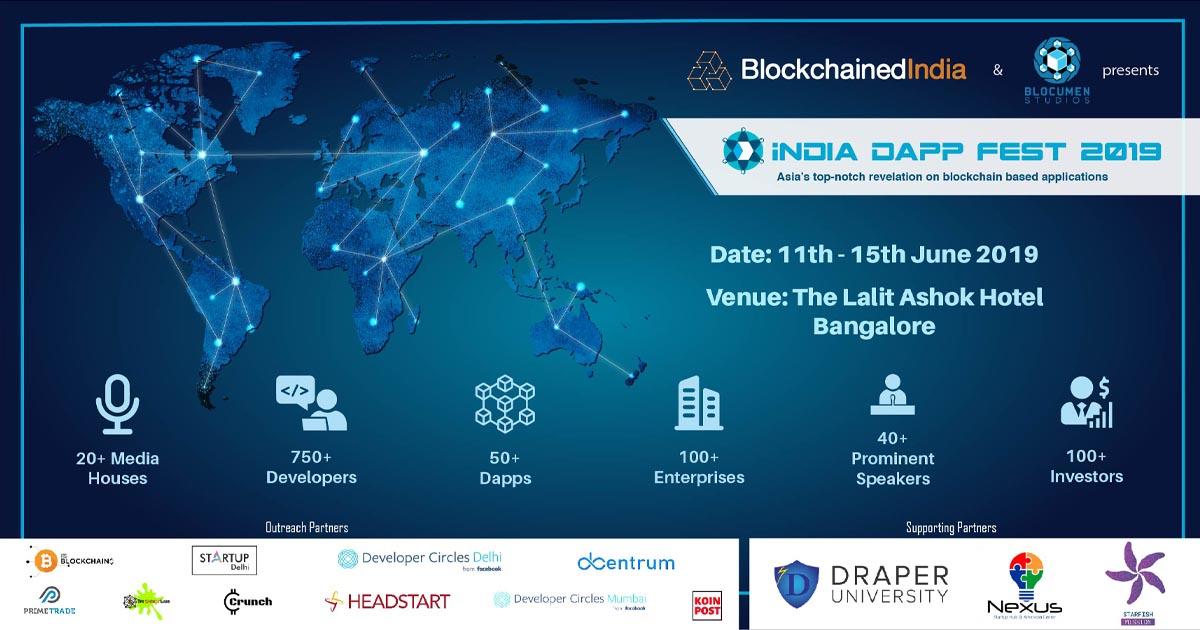 India Inches Closer To Biggest Blockchain Conference 'The India Dapp Fest 2019'
