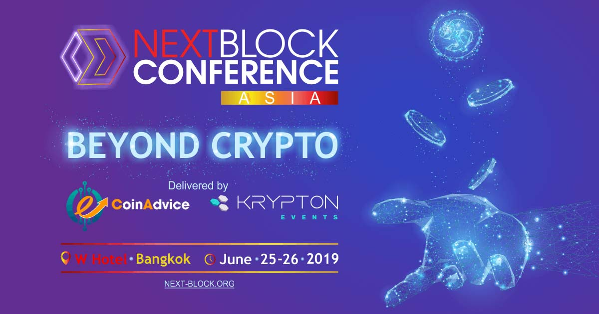 """Get 30% off on NEXT BLOCK  ASIA """"Beyond Crypto"""" Tickets"""