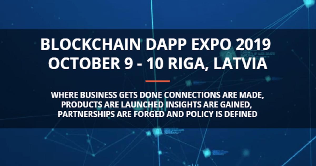Blockchain DApp Expo 2019