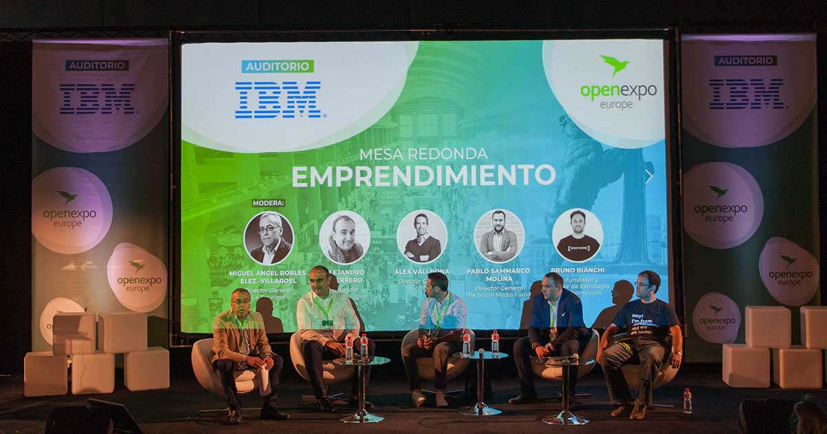 OpenExpo Europe 2019: Companies and Professionals in Favor of Open Technologies Innovation