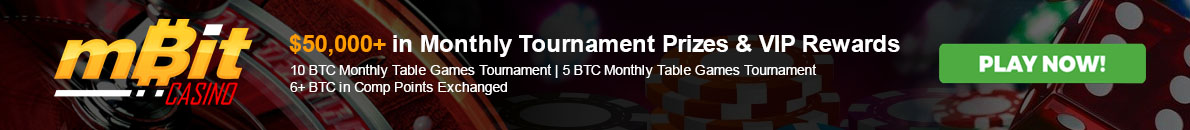 Mbit Tournament Prizes and VP Rewards