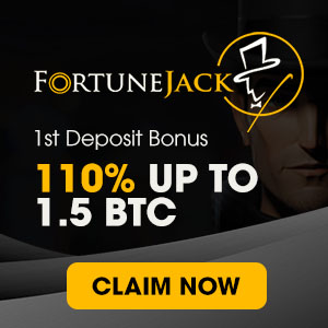 1st Deposit Bonus - 110% UP TO  1.5 BTC